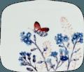 Organic Square Plate, Small