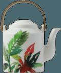 Gien Jardins Extraordinaires Vegetal Japanese Teapot