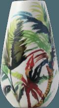 Gien Jardins Extraordinaires Vegetal Contour Vase