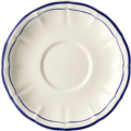 Gien Filet Cobalt BREAKFAST SAUCER