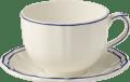 102 JUMBO CUP & SAUCER