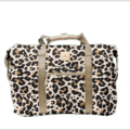 299 Weekender Leopard Coated Canvas
