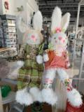 FabVilla Exclusives Easter Plaid Bunny