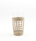 13 Seagrass cage highball glass