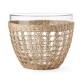49 Seagrass cage salad bowl, large