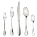 488 Silver Plated Five-Piece Place Setting