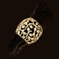 $195.00 Lorel Gold Napkin Rings set of 4