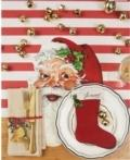 Hester and Cook Stocking Table Accent- Pack of 12