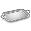 Mariposa String of Pearls Pearled Service Tray