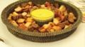 Calaisio Rd Chip/Dip Glass Bowl