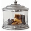 $355.00 Glass Cookie Jar