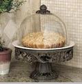 GG Collection Cake Pedestal/Dome CR