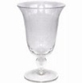 $9.50 Iris Clear Footed Ice Tea