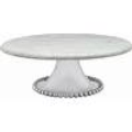 Mariposa String of Pearls Pearled Cake Stand
