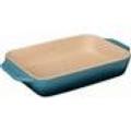 Le Creuset Stoneware 3.1 qt Rect Baker Marine