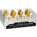 Artland Salt Pepper Set 12 Gold