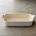 Le Creuset Stoneware 3.1 qt WH Rect Dish