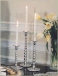 Mariposa String of Pearls MD Pearled Candlestick