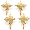 $2,147.00 Dove Tuxedo Studs - Set of 4 - 14k Gold