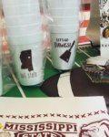 $10.00 Mississippi State 16oz Styrofoam Cups