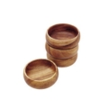 $42.95 Set of four wooden salad bowl