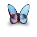 Baccarat Lucky Deluxe Butterflies Baccarat Lucky Butterfly - Blue Scarabee