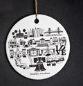The Dish Philadelphia Ornament
