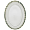 Miscellaneous Syracuse Turquoise Oval Platter, Small