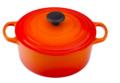 Le Creuset 4 1/2 Qt. Round Dutch Oven- Flame
