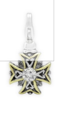 $50.00  Faith Cross Charm