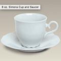 26 Cup/Saucer 8oz