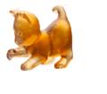 Daum Animal Sculptures - Cat Amber player mini kitten