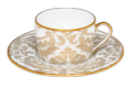 Tea cup and Saucer Gold