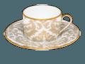 189 Tea cup and Saucer Gold