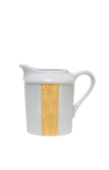 Infini gold cream jug with small handle