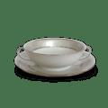 Haviland Clair De Lune Uni Soup Cup & Saucer