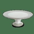 Haviland Clair De Lune Uni Footed Cake Platter