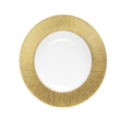 Infini gold soup plate