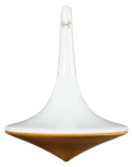 Swing spinning top - wood base