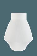 Infini white small vase