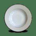 Haviland Clair De Lune Uni Rim Soup Plate