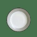 Haviland Clair De Lune Uni Rimless Soup Plate