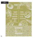 Le Jacquard Francais De Saison Legumes Tea Towel - Lettuce