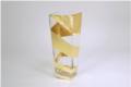 Tamara Childs Roadz Square Tapered Vase - 12