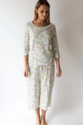 62 English Floral - Capri PJ Set  Small