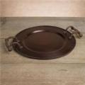 $135.00 Antique Cooper Round Tray