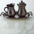 $150.00 Antique Creamer & Sugar Cooper set