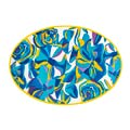 48 Blue Rose Serving Platter