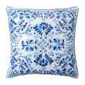 """Juliska Pillows Iberian Journey Indigo 22"""" Pillow"""