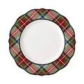 Juliska Stewart Tartan Dinner Plate